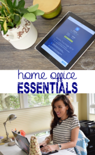 7 Home Business Essentials & a Giveaway
