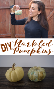 DIY Marbled Pumpkins: Tricks from Bluprint
