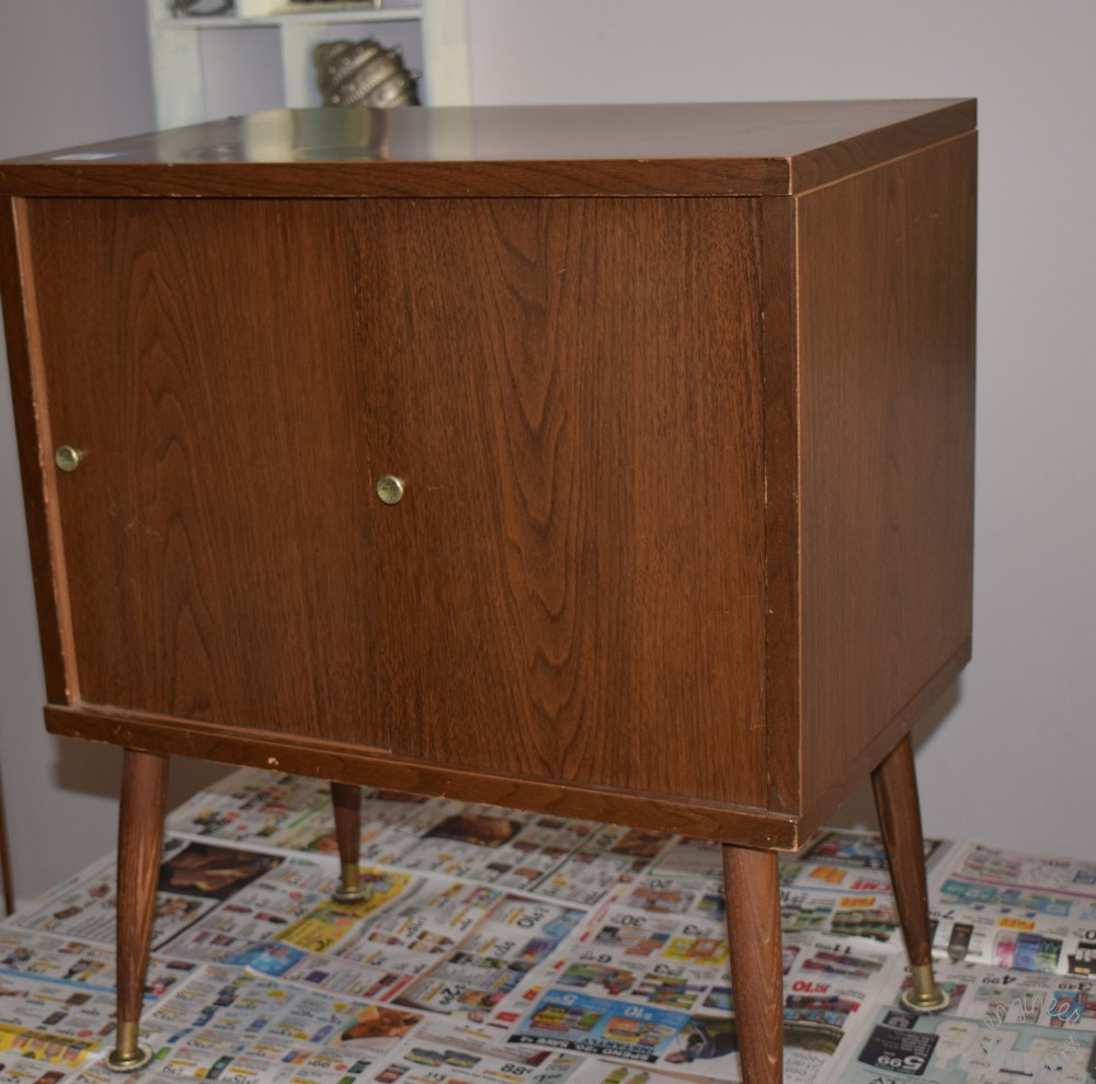 DIY Thrifted Nightstand