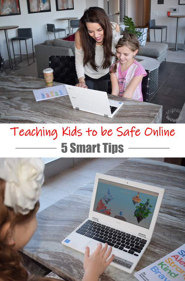 Teaching Kids to be Safe Online: 5 Smart Tips