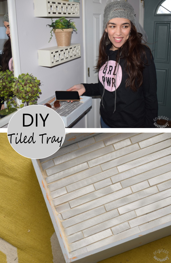 DIY Tiled Tray