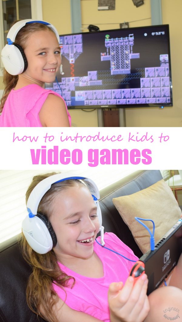 5 Tips for Introducing Kids to Video Games