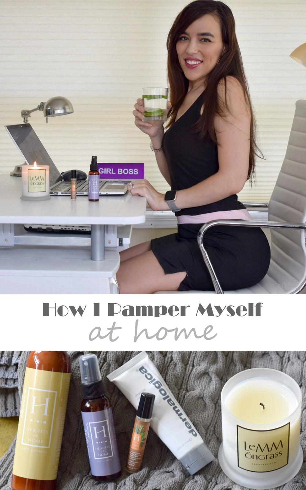 5 Ways I Pamper Myself At Home