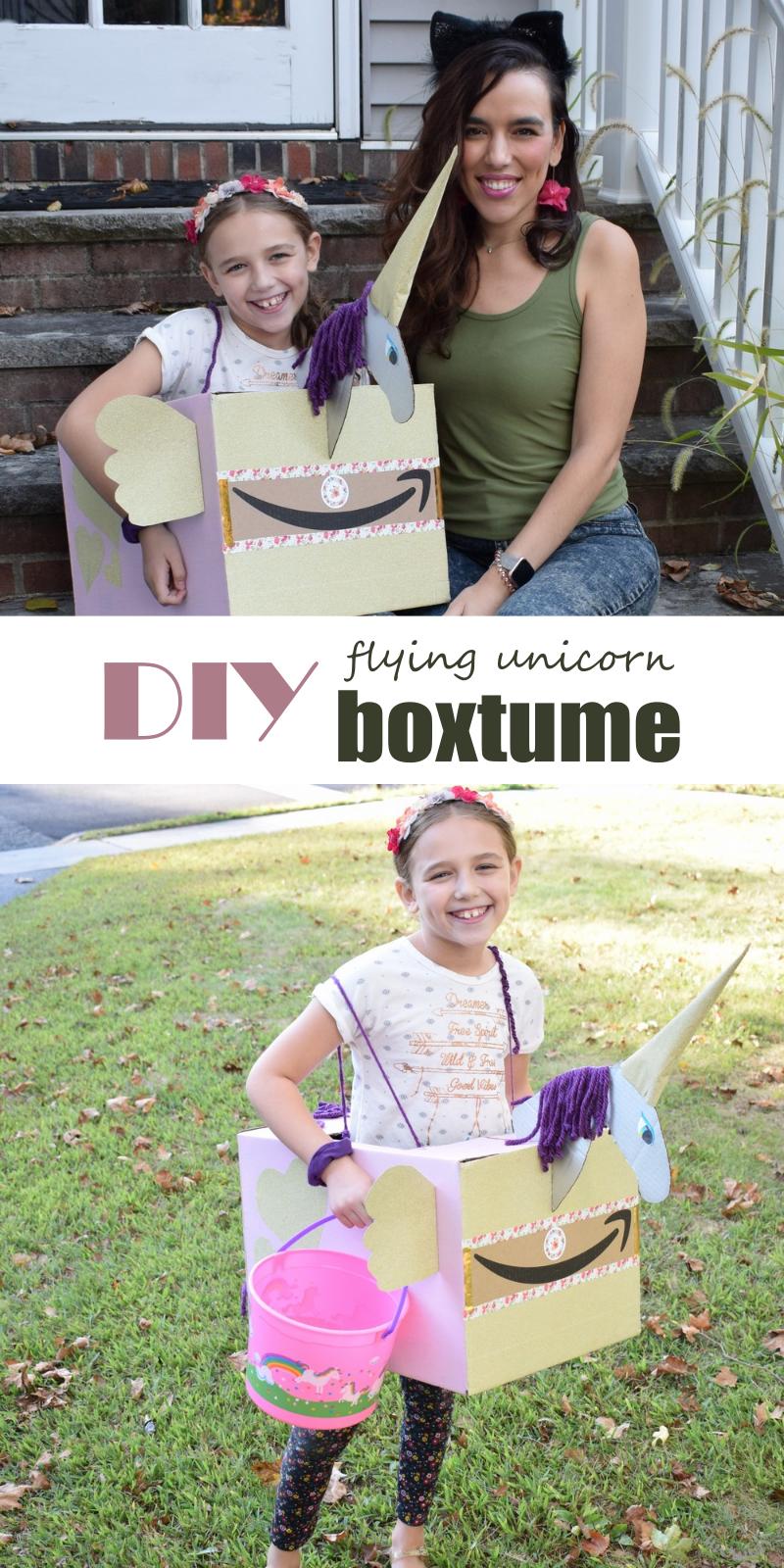 DIY Flying Unicorn Boxtume