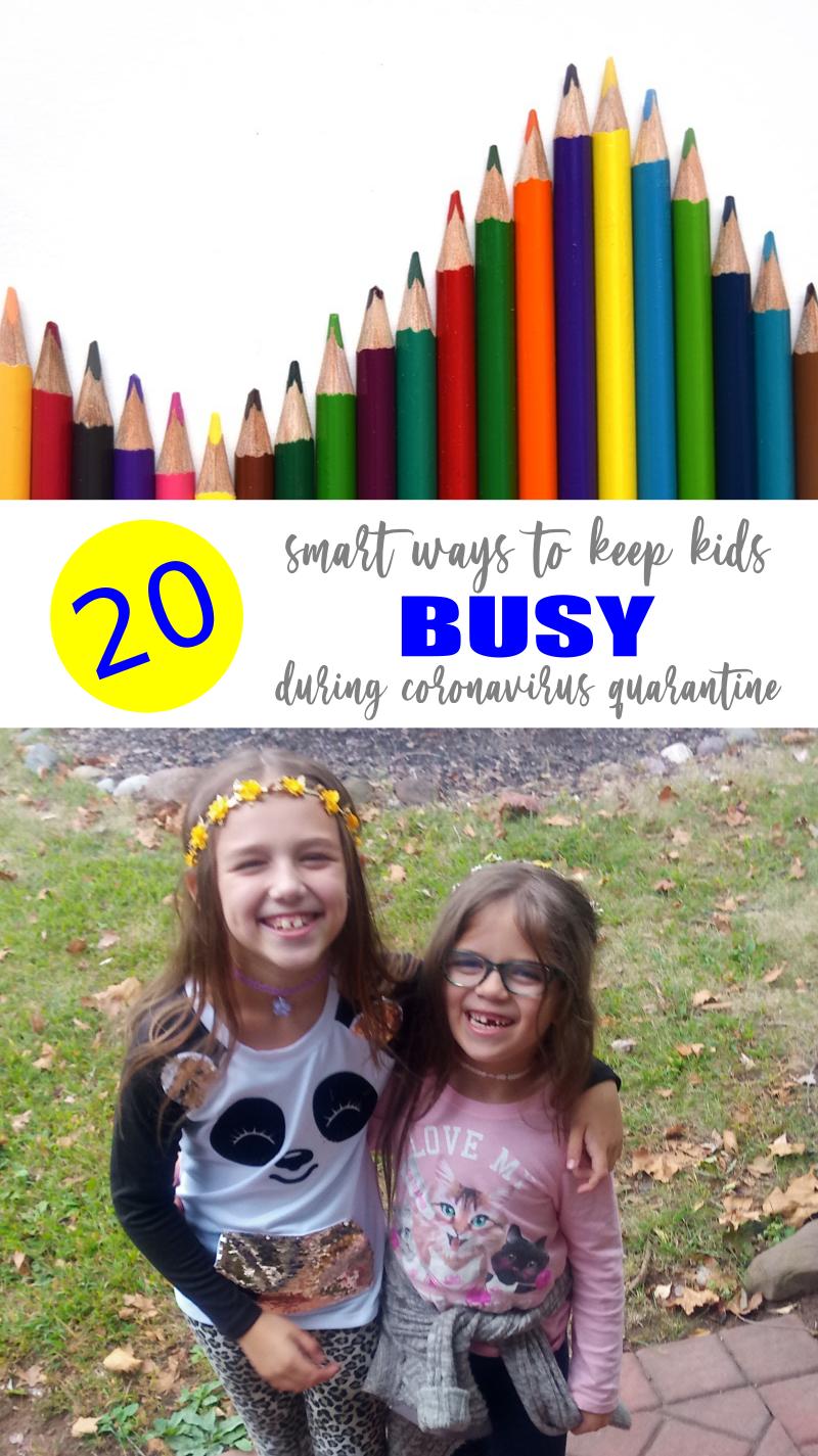 20 Ways to Keep Kids Busy During Coronavirus Quarantine
