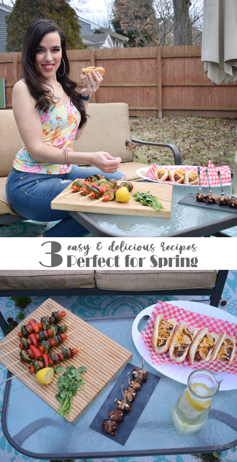 3 Easy & Delicious Recipes Perfect for Spring