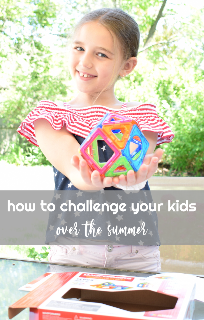 How To Challenge Your Kids Over the Summer