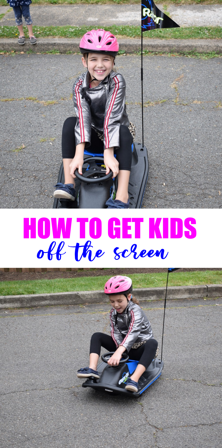 Tips to Keep your Kids Off a Screen