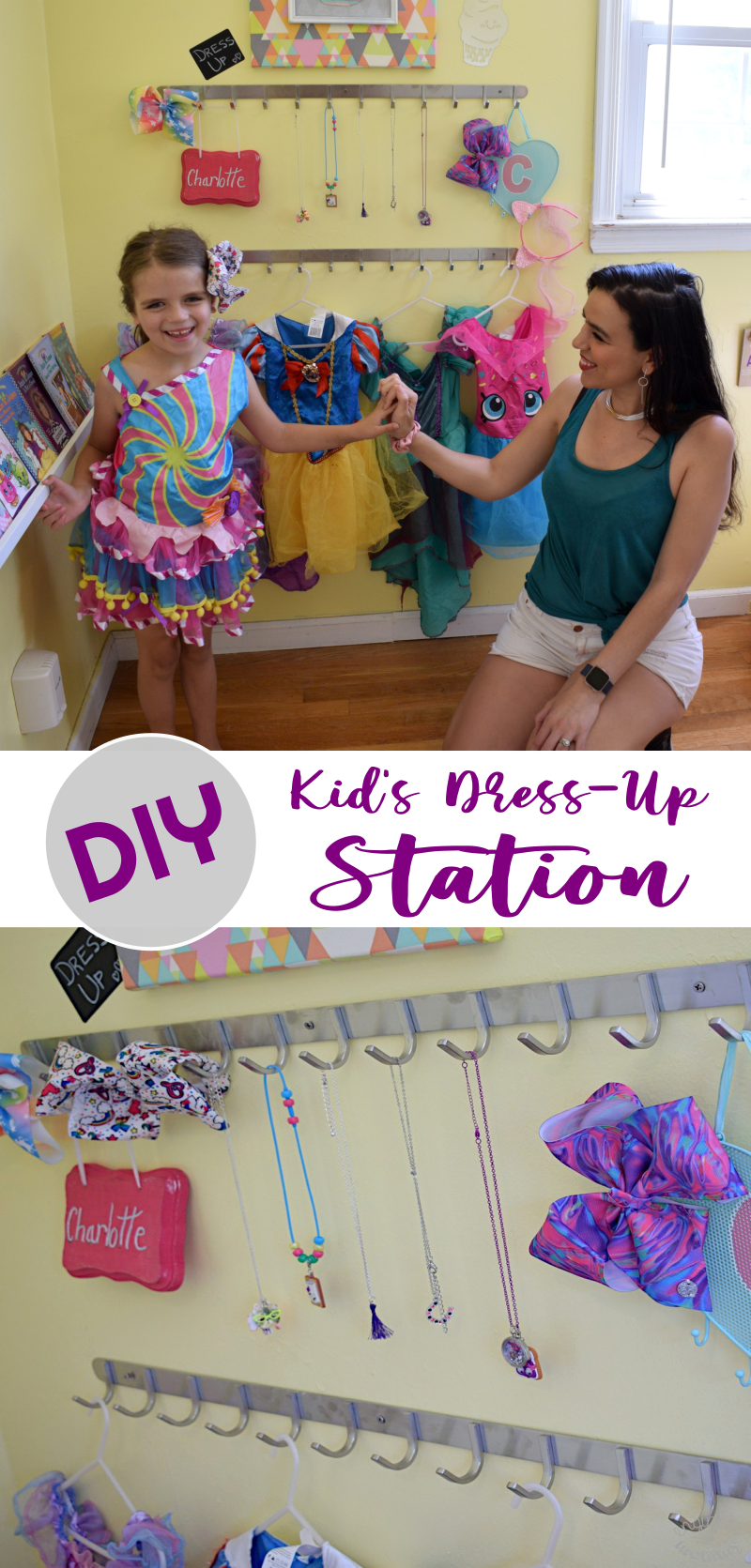 DIY Kid's Dress-Up Station
