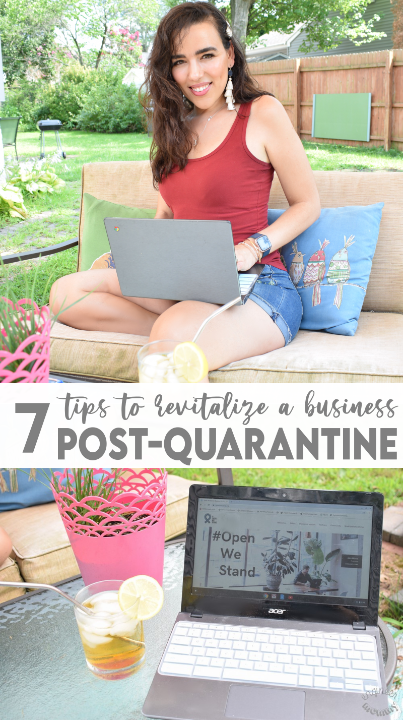 7 Smart Tips to Revitalize a Business Post-Quarantine