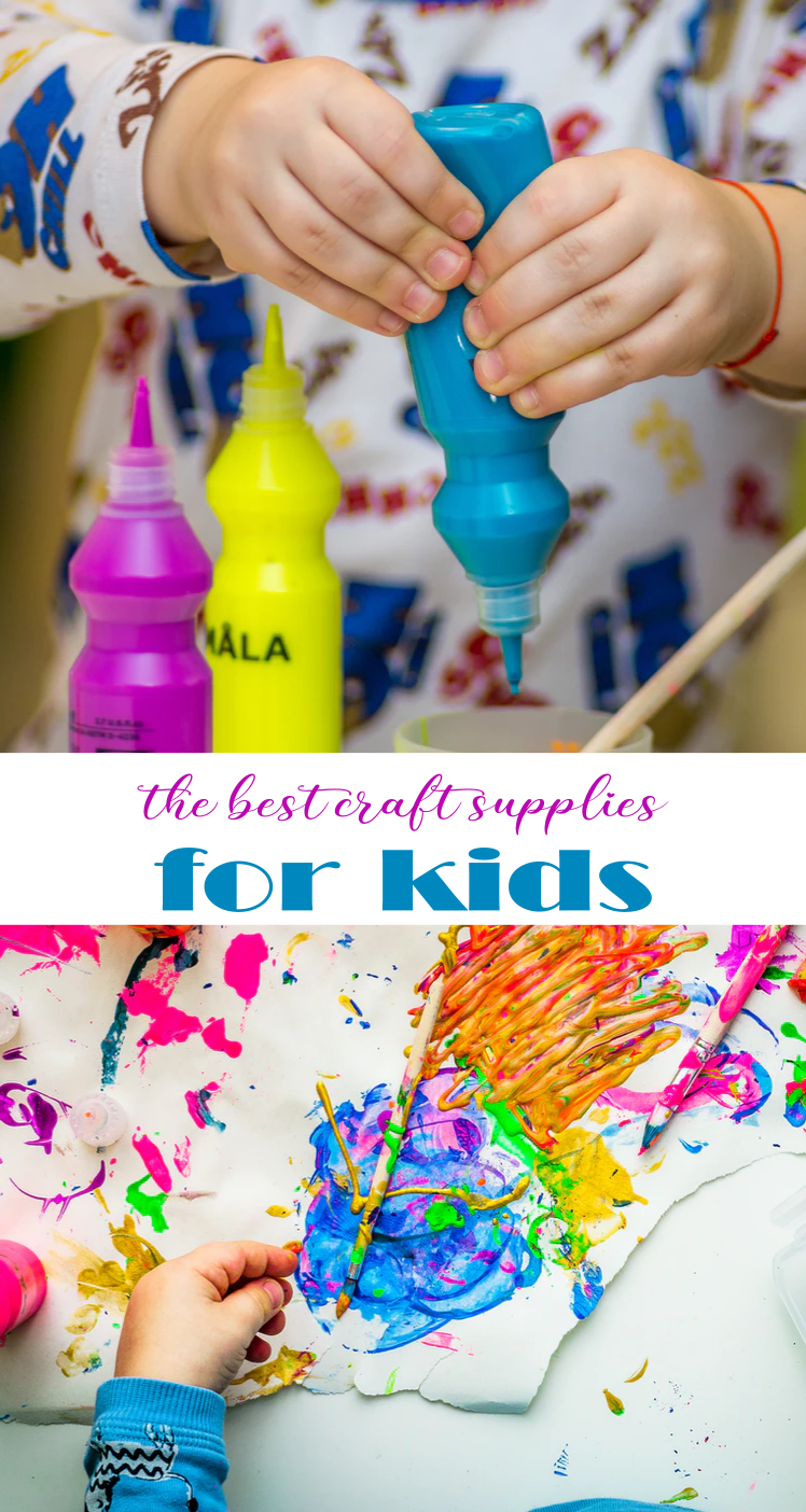 My Favorite Craft Supplies for Kids