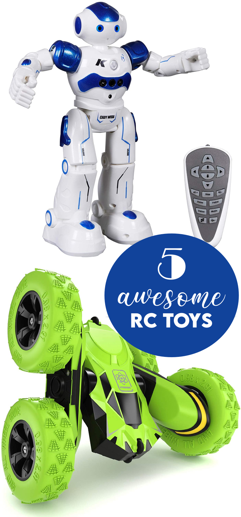 5 Awesome RC Toys for the Holiday Season