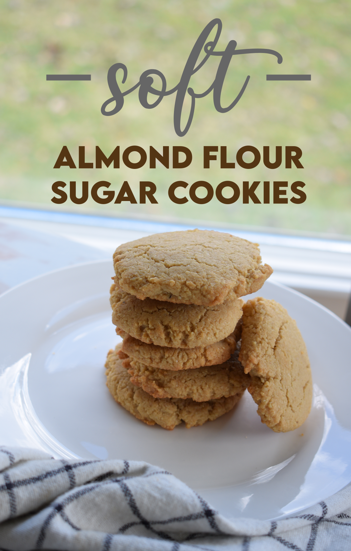 The Softest Almond Flour Sugar Cookies