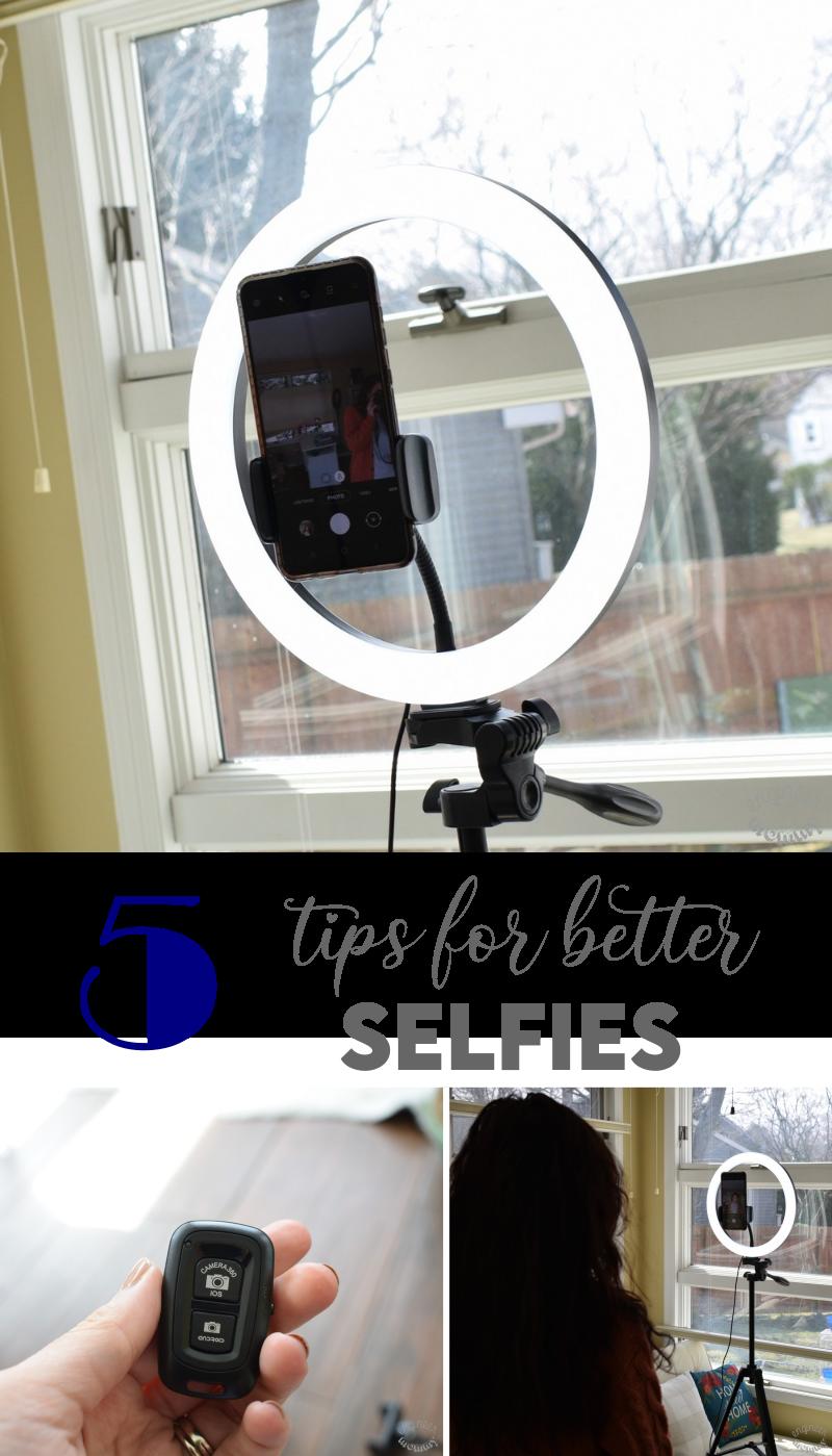 5 Tips for Better Selfie Photos