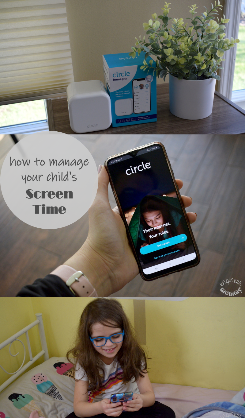 Managing Your Child's Screen Time with Circle Home Plus