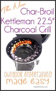 Outdoor Entertaining Made Easy with the Char-Broil Kettleman Grill