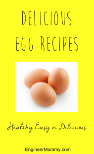 Delicious egg recipes