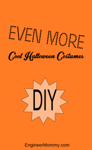 More cool DIY Halloween costumes
