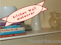 Makeover: kitchen wall