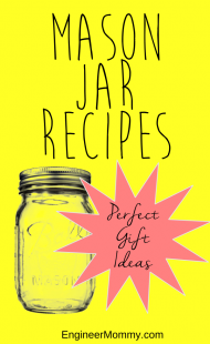 Mason jar recipes {gift ideas}