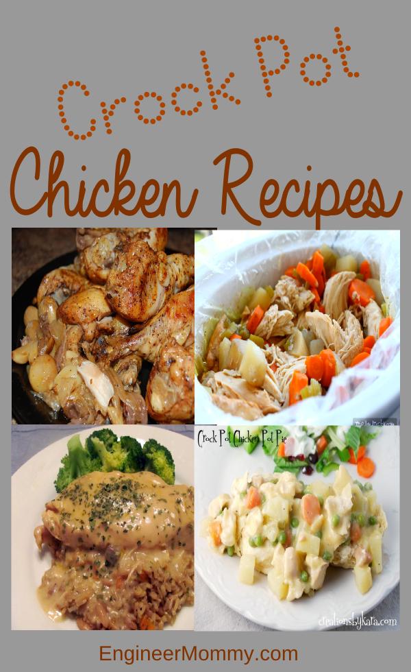 Crock pot chicken meals