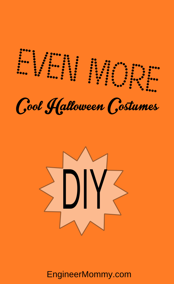 More cool DIY Halloween costumes