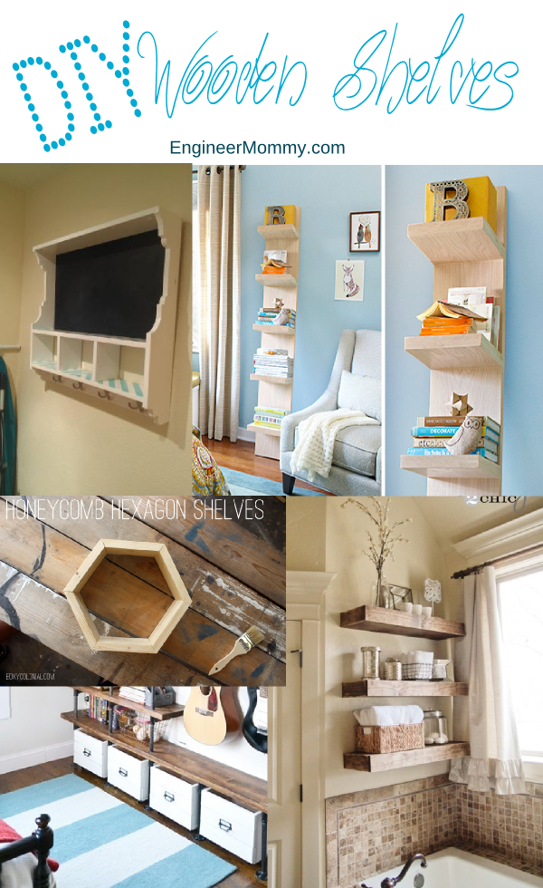 DIY Wooden Shelves