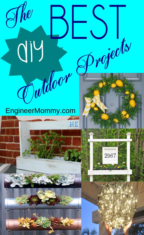 Best Outdoor DIY Projects