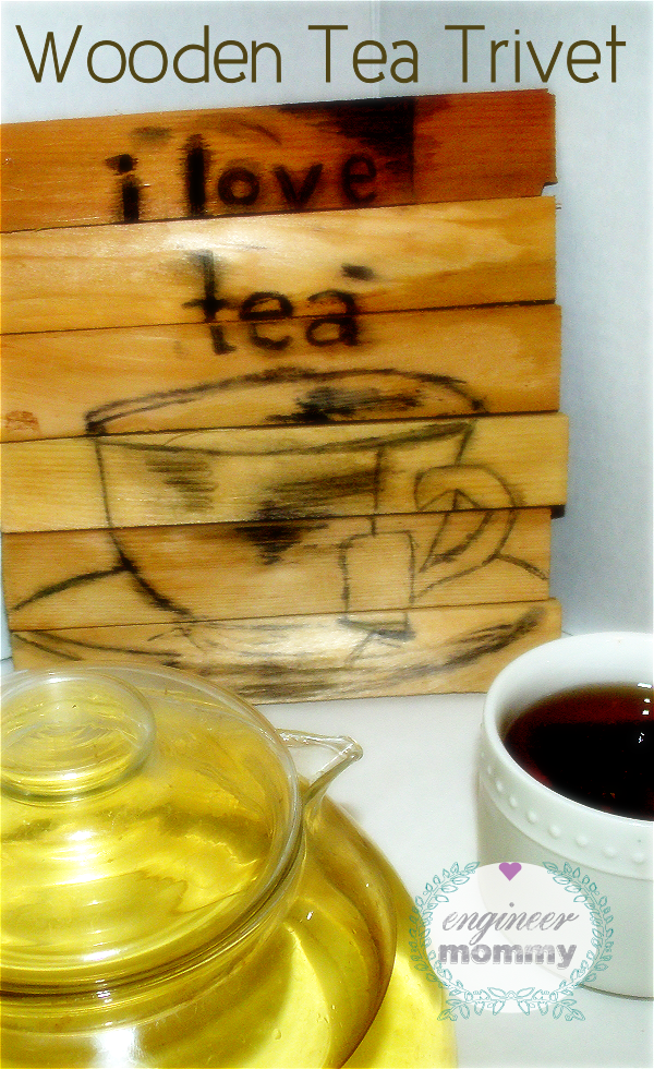 DIY Wooden Tea Trivet