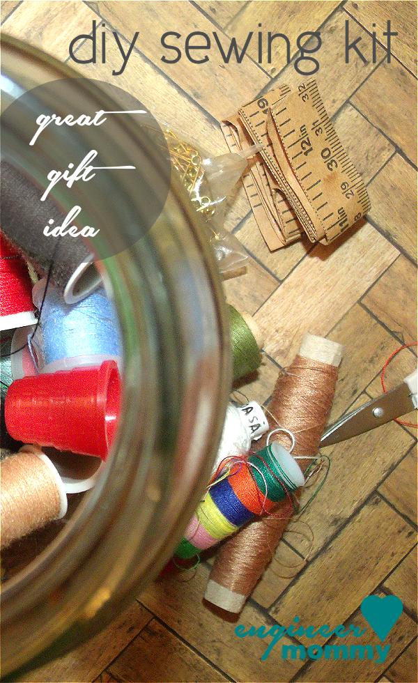 DIY sewing kit {gift idea}