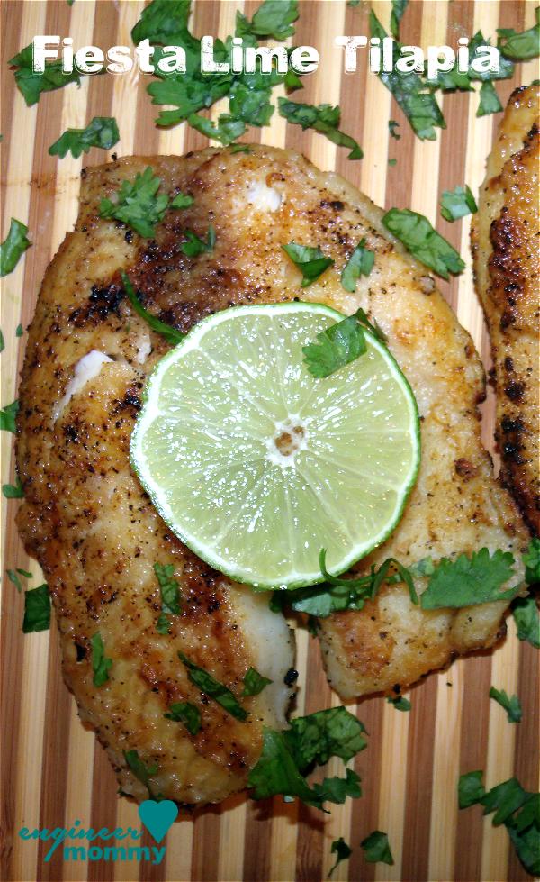 Fiesta Lime Tilapia Recipe