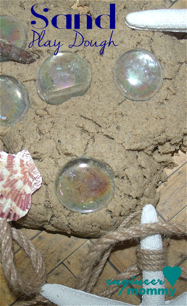 Sand Play Dough Recipe