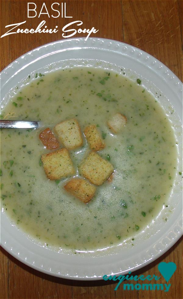 Creamy Summer Zucchini Soup