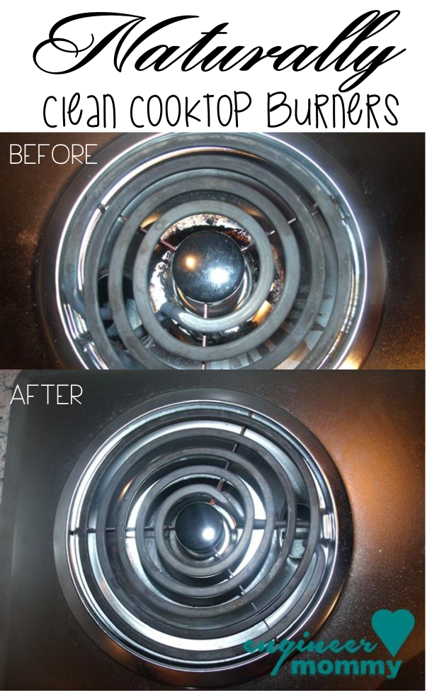 Naturally Clean Stove Top Burners