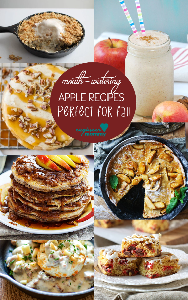 Apple Recipes perfect for Fall