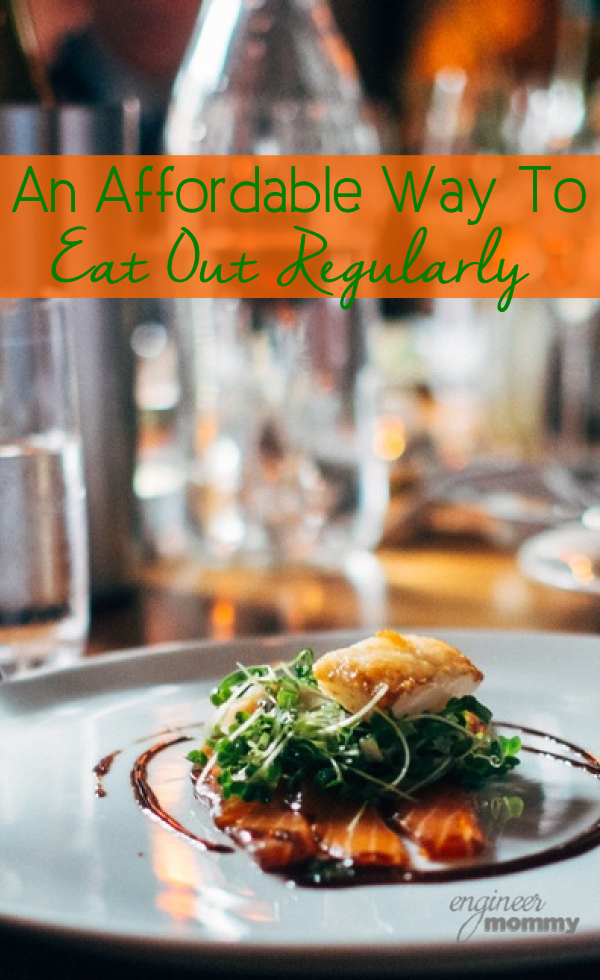 An Affordable Way to Eat Out Regularly