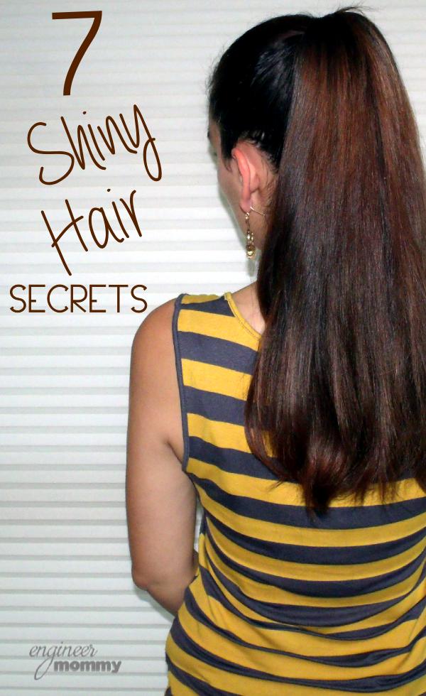7 Shiny Hair Secrets
