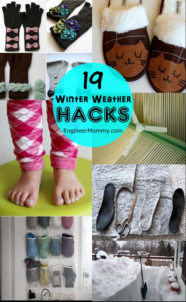 19 Winter Weather Hacks