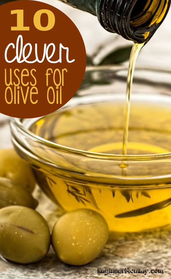 10 Clever Uses for Olive Oil