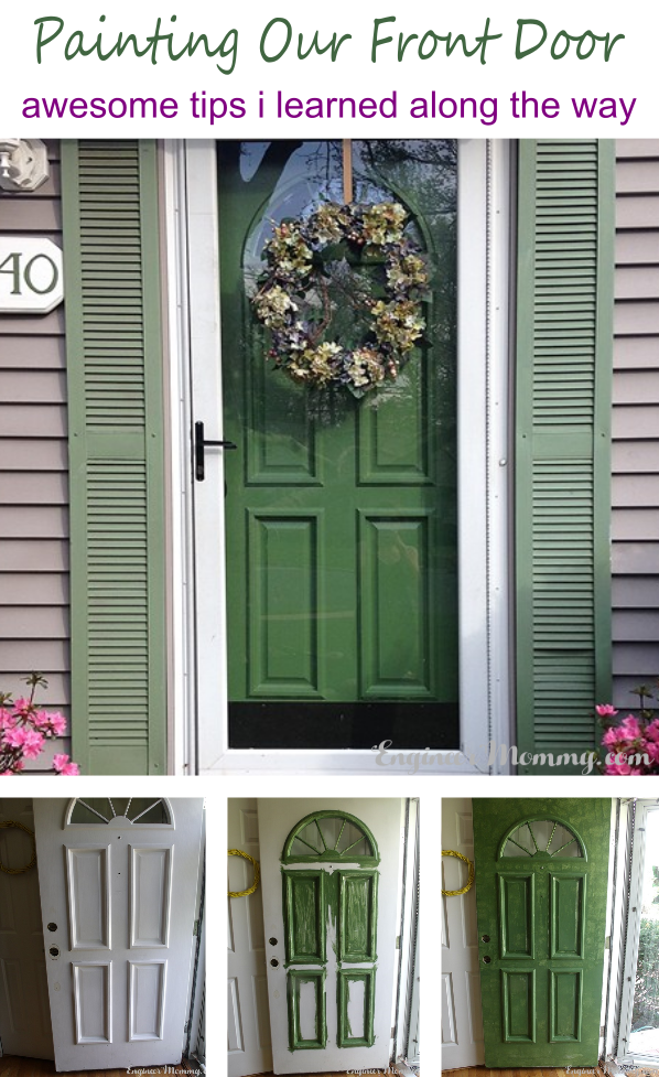 Painting our Front Door: Awesome Tips I Learned Along the Way