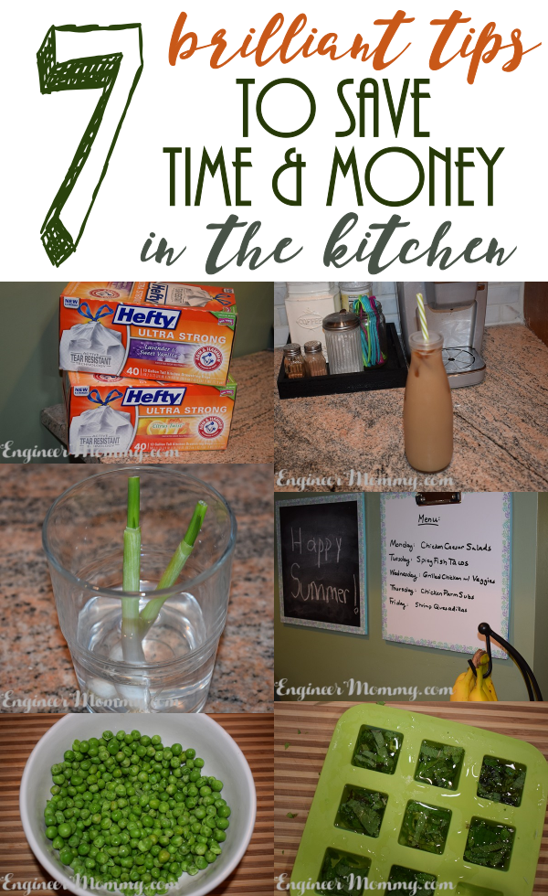 7 Brilliant Tips to Save Time & Money in the Kitchen