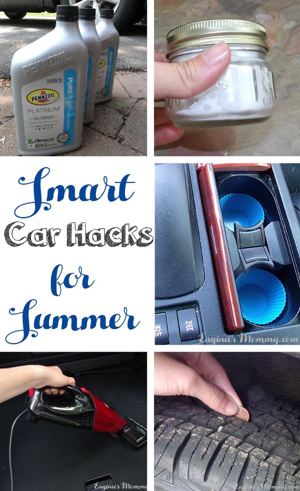 Smart Car Hacks for Summer