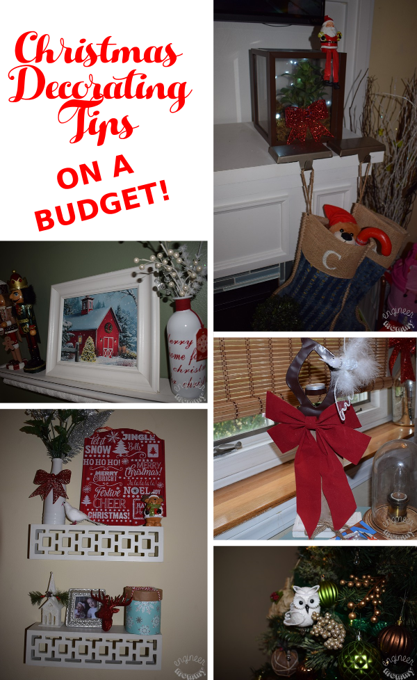Christmas Decorating Tips - On a Budget!