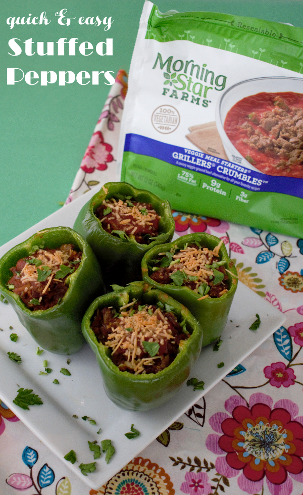 Quick & Easy Stuffed Peppers