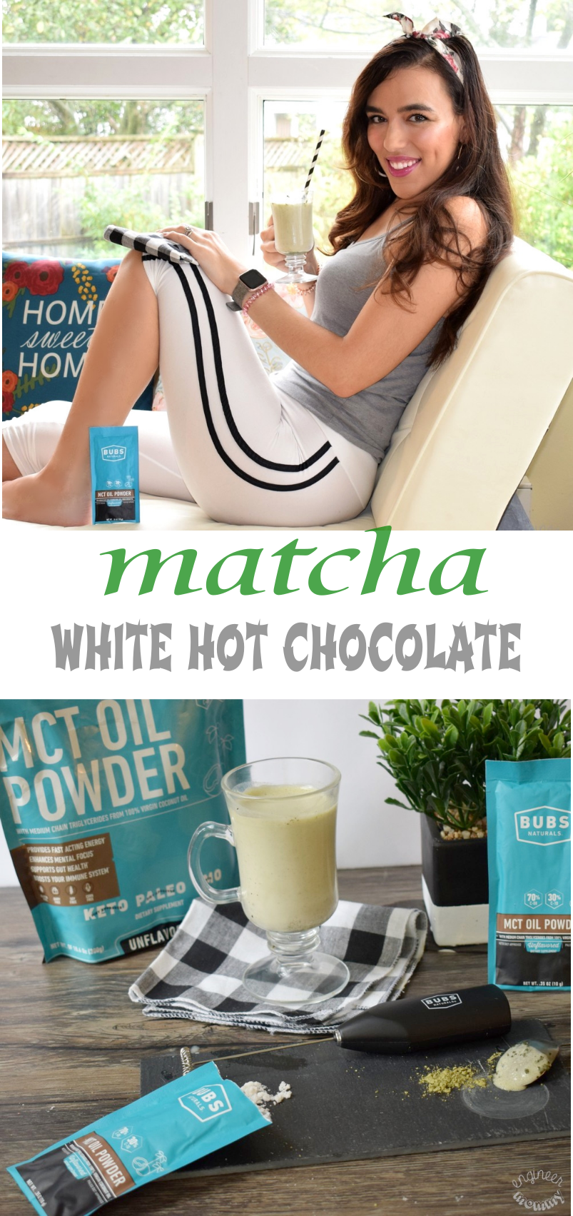 Matcha White Hot Chocolate