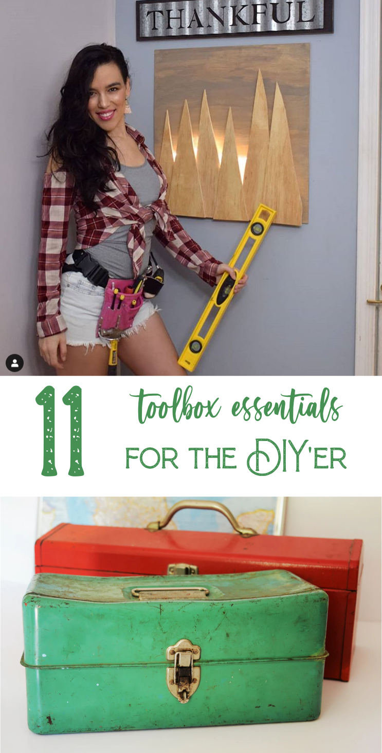 11 Toolbox Essentials for the DIY'er