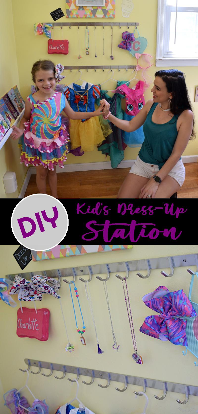DIY Kid's Dress-Up Station