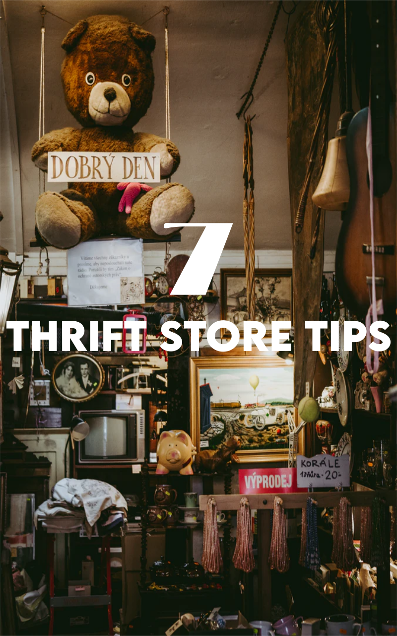 5 Tips for Thrifting Home Decor