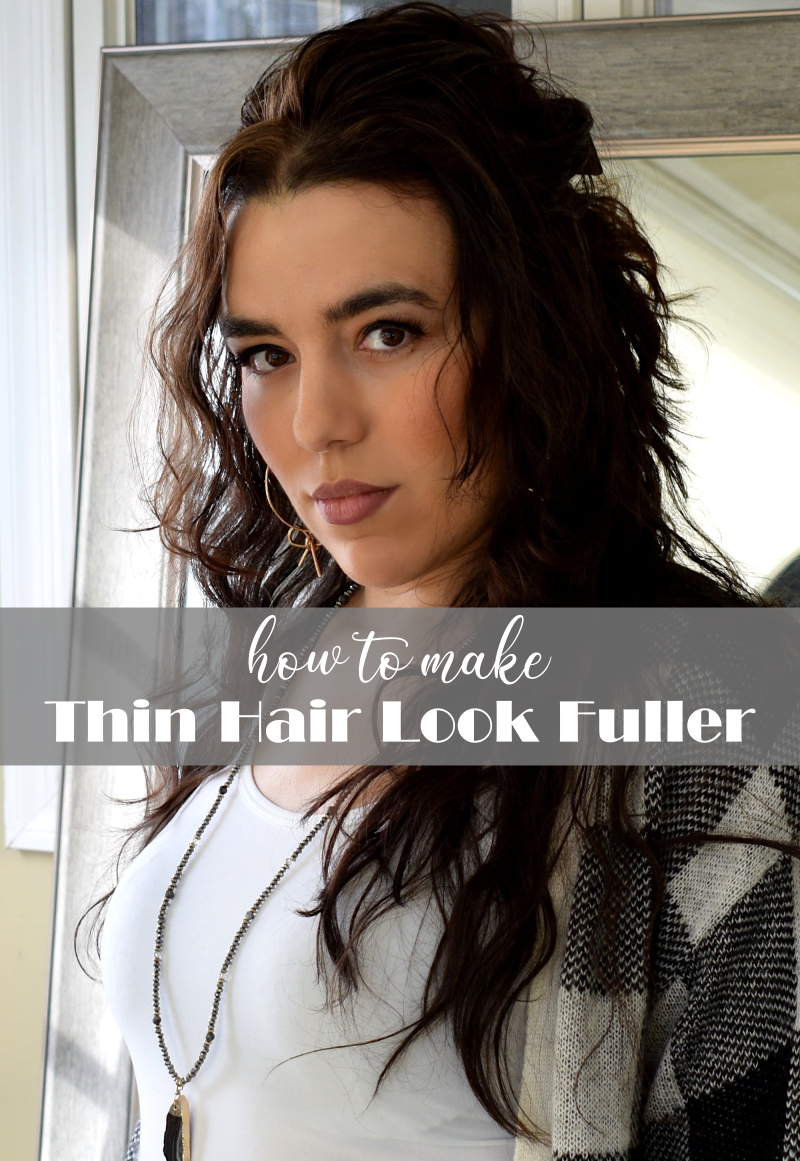 7 Tips to Make Fine Hair Look Thicker & Fuller