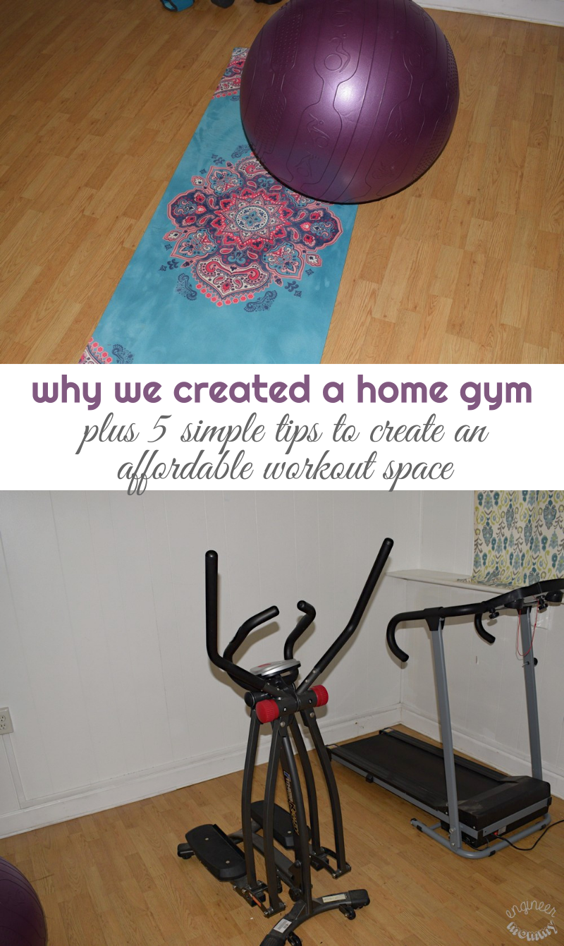 We Created a Home Gym!